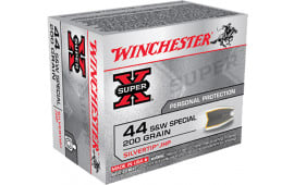 Winchester Ammo X44STHPS2 Super-X 44 Smith & Wesson Special 200 GR Silvertip HP - 20rd Box