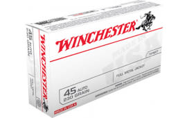 Winchester Ammo Q4170 Best Value 45 ACP 230 GR Full Metal Jacket - 50rd Box