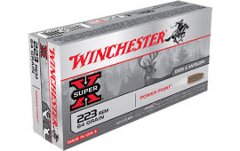 Winchester Ammo X223R2 Super-X .223/5.56 NATO 64 GR Power-Point - 20rd Box