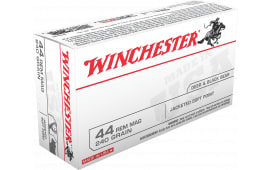Winchester Ammo Q4240 Best Value 44 Remington Magnum 240 GR Jacketed Soft Point - 50rd Box