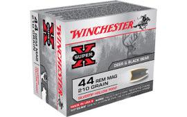 Winchester Ammo X44MS Super-X 44 Remington Magnum 210 GR Silvertip HP - 20rd Box