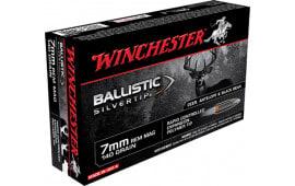 Winchester Ammo SBST7A Supreme 7mm Remington Magnum 140 GR Ballistic Silvertip - 20rd Box