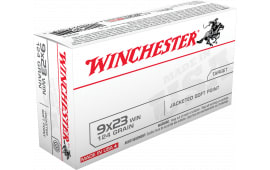 Winchester Ammo Q4304 Best Value 9x23 Winchester 124 GR Jacketed Soft Point - 50rd Box