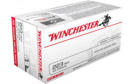 Winchester Ammo USA2232 Best Value .223/5.56 NATO 45 GR Jacketed Hollow Point - 40rd Box
