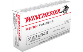 Winchester Ammo MC76254R Metric 7.62X54mm Russian 180 GR Full Metal Jacket - 20rd Box