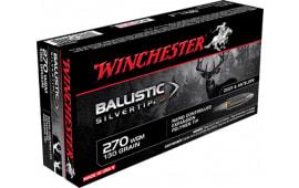 Winchester Ammo SBST2705 Supreme 270 Winchester Short Magnum 130 GR Ballistic Silvertip - 20rd Box