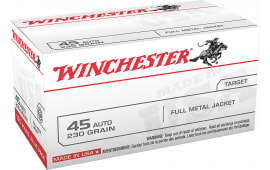 Winchester Ammo USA45AVP Best Value 45 ACP 230 GR Full Metal Jacket - 100rd Box