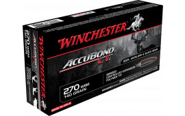 Winchester Ammo S270WSMCT Supreme 270 Winchester Short Magnum 140 GR AccuBond CT - 20rd Box