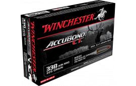 Winchester Ammo S338CT Supreme 338 Winchester Magnum 225 GR AccuBond CT - 20rd Box