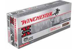 Winchester Ammo X25WSS Super-X 25 Wssm 120 GR Positive Expanding Point - 20rd Box