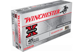 Winchester Ammo X45GSHP Super-X 45 GAP 185 GR Silvertip HP - 50rd Box