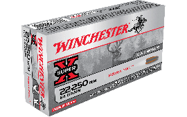 Winchester Ammo X222502 Super-X 22-250 Remington 64 GR Power-Point - 20rd Box