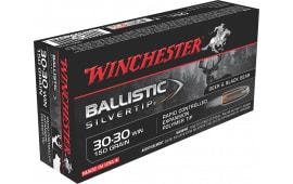 Winchester Ammo SBST3030 Supreme 30-30 Winchester 150 GR Ballistic Silvertip - 20rd Box