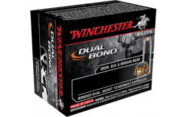 Winchester Ammo S44RMDB Elite 44 Remington Magnum 240 GR Dual Jacket Hollow Point - 20rd Box