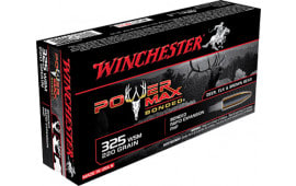 Winchester Ammo X325WSMBP Super-X 325 Winchester Short Magnum 220  GR Power Max Bonded - 20rd Box