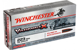 Winchester Ammo X223P Super-X .223/5.56 NATO 55 GR Varmint - 20rd Box
