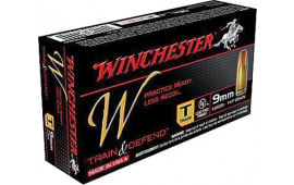 Winchester Ammo W9MMT W 9mm Luger 147 GR Full Metal Jacket - 50rd Box