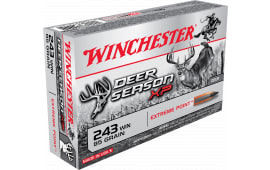 Winchester Ammo X243DS Deer Season XP 243 Winchester 95 GR Extreme Point - 20rd Box
