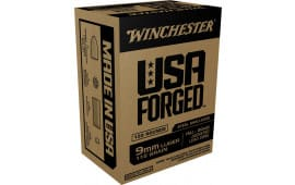 Winchester Ammo WIN9S USA Forged 9mm Luger 115 GR Full Metal Jacket - 150rd Box