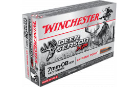 Winchester Ammo X708DS Deer Season XP 7mm-08 Remington 140 GR Extreme Point - 20rd Box