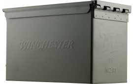 Winchester Ammo Q4318AC 9mm Luger 124 GR Full Metal Jacket 1000 Ammo Can - 1000rd Case