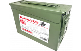 Winchester Ammo USA40AC USA Centerfire 40 Smith & Wesson (S&W) 165 GR Full Metal Jacket - 500rd Case