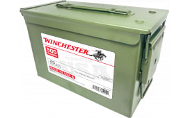 Winchester Ammo USA45AC USA Centerfire 45 ACP 230 GR Full Metal Jacket 500rd Ammo Can - 500rd Case