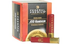 "Federal PD412JGE4 Premium Personal Defense 410GA 2.5"" 7/16oz #4 Shot - 20sh Box"