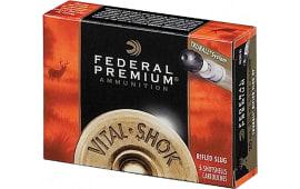 """Federal PB209RS Vital-Shok 20GA 3"""" 3/4oz Slug Shot - 5sh Box"""