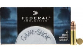 Federal 712 Game-Shok 22 Long Rifle 38 GR Copper-Plated Hollow Point - 50rd Box