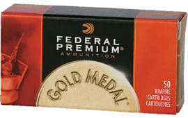 Federal 719 Gold Medal Premium 22 LR Solid 40 GR - 50rd Box