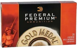 Federal GM260M Premium 260 Remington Sierra MatchKing Bthp 142 GR - 20rd Box