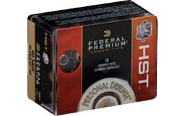 Federal P40HST1S Premium Personal Defense 40 Smith & Wesson (S&W) 180 GR Hydra-Shok Jacketed Hollow Point - 20rd Box