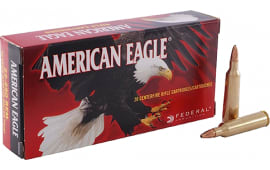 Federal American Eagle AE22250G 22-250Rem 50 GR Jacketed Hollow Point - 20rd Box