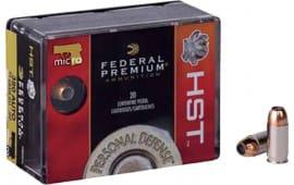 Federal P380HST1S Premium Personal Defense HST Micro 380 ACP 99 GR HST - 20rd Box