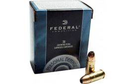 Federal C357B Standard 357 Rem Mag Jacketed Hollow Point 125 GR - 20rd Box