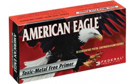 Federal AE9N1 Standard 9mm Total Metal Jacket 124  GR - 50rd Box