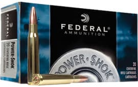Federal 7WSME Power-Shok 7mm Winchester Short Mag Soft Point 150 GR - 20rd Box