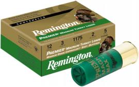 "Remington Ammunition P1235M4 Premier Magnum Copper-Plated Buffered Turkey 12GA 3.5"" 2-1/4oz #4 Shot - 10sh Box"