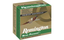 """Remington NP12M4 Nitro Pheasant Loads 12 GA 2.75"""" 1-3/8oz #4 Shot - 250sh Case"""