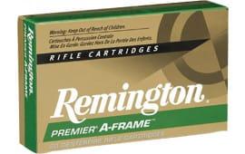 Remington Ammo PR375UM3 Premier 375RemUltraMag 300 GR PSPAF Copper - 20rd Box