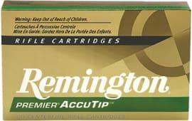 Remington Ammunition PRA2250RB Premier 22-250 Rem AccuTip 50  GR - 20rd Box