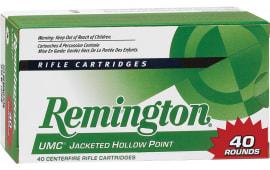 Remington Ammo L308W4B UMC Value Pack 308 Win/7.62 NATO 150 GR MC - 40rd Box