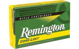 Remington Ammo R30RAR2 Core-Lokt 30 Rem AR Soft Point 150 GR - 20rd Box