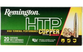 Remington Ammunition HTP7UM HTP Copper 7mm Remington Ultra Magazine 150  GR TSX Boat Tail - 20rd Box