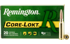 Remington Ammunition R65CR1 Core-Lokt 6.5 Creedmoor 140  GR Pointed Soft Point - 20rd Box