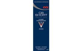 CCI 0026 Low Noise/Training/Specialty CB 22 Short LRN 29  GR - 100rd Box