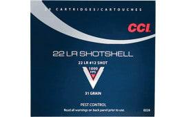 CCI 0039 Low Noise/Training/Specialty 22 Long Rifle #12 Shot 31  GR - 20rd Box