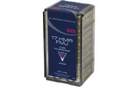 CCI 0055 Small Game 17 Hornady Magnum Rimfire (HMR) 20 GR Full Metal Jacket - 50rd Box