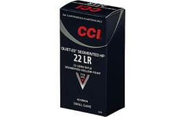 CCI 970 Quiet-22 22 LR 40 GR Cprn - 50rd Box